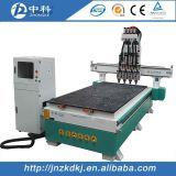 Маршрутизатор CNC Atc цилиндра 4 головок деревянный