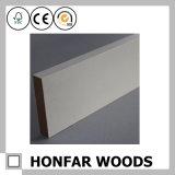 MDF spesso di bianco con legno innescato che modella per la decorazione