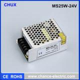 24V 25Wの小型サイズの切換えの電源SMPS (MS-25W-24V)