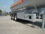 AluminiumAlloy (Fuel) Tank Trailer für Light Diesel Oil Delivery (HZZ9401GRQ)