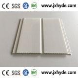 白い中間の溝PVCパネルの天井の装飾5/6/7/8mmの厚さ