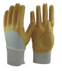 13 связанных датчиком перчатки нитрила вкладыша 3/4 Coated