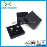 Kundenspezifische kleine lederne Schmucksache-Kasten-Fach-Griffe mit Schaumgummi-Einlagen