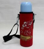 Refroidisseur de bouteille du néoprène d'impression de sublimation avec la tirette, refroidisseur de bouteille, refroidisseur de bière
