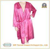De Kimono van het Satijn van de Polyester van dames (tex-SPC008)