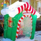 Baracca gonfiabile della decorazione gonfiabile di natale per il Babbo Natale