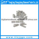 V tipo segmento de pulido del corte del diamante