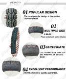 타이란드에 최신 판매 대중적인 검정 3.00-17 기관자전차 타이어