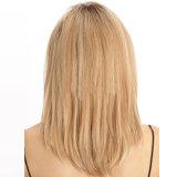 wig 60cm/24inches L 전자 우편 형식 여자 귀여운 숙녀 합성 가발 머리 혼합 베이지색 합성 머리 긴 백금 Blonde 가발