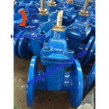 Válvula de porta industrial da flange do ferro de molde Gg25 de API/ANSI/JIS
