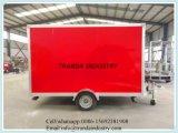 De nieuwe 6X12 6 Aanhangwagen W/Ramp van de Lading van X12 v-Neus Ingesloten