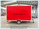 Новый трейлер W/Ramp груза V-Носа 6X12 6 x 12 Enclosed