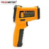 Peakmeter K 유형 Pm6530c 컬러 화면 출력 장치 몸의 접촉이 없는 적외선 온도계