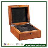 Kundenspezifischer Bambusverpackungs-hölzerner Uhr-Kasten