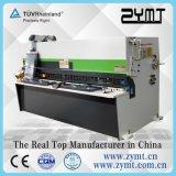 Cortadora hidráulica de la certificación del CE de la viga Shear/ISO9001 del oscilación de /Hydraulic de la máquina que pela (QC12k 4*4000)