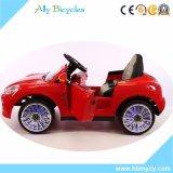 miúdos 12V Montar-nas rodas a pilhas do assento de couro do plutônio do carro
