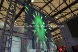 자동 상점을%s LED 투명한 전시 유리제 영상 스크린