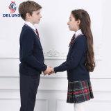 Uniforme de la escuela / suéter negro al por mayor