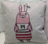 かわいいウサギ車のソファーの枕(T113)