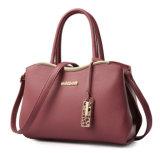 Do ombro de couro do Tote da bolsa do plutônio das mulheres senhora luxuosa saco de couro