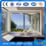 Porta de dobradura/indicador deslizantes de alumínio com vidro Tempered seguro/vidro laminado