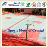 Plancher en cristal durable de basket-ball pour le stade de sports