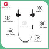 Fone de ouvido sem fio estereofónico de Bluetooth do auscultadores do esporte