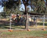 Горячая окунутая гальванизированная временно загородка конструкции