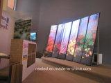 LED-Bildschirm-Ausstellungsstand-Innenstandplatz, den grossen Bildschirm bekanntmachend Innen, LED-Wolken-Zeichen