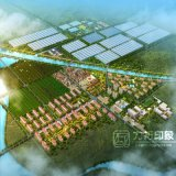 Chinesische Art-Wohngebäude-Architektur-Wiedergabe-Projekt