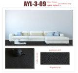 Couleurs de marbre de plancher de PVC d'étage de modèle de configuration de marbre de taille