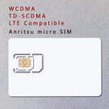 Tarjeta de WCDMA 3G 4G TD-SCDMA Micro SIM de teléfono de prueba de LTE para Anritsu