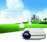 Videojuegos TV de cine en casa Mini proyector LED con una vida útil 30000h