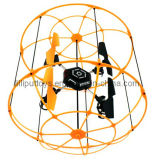 2.4G 4-Axis RC Quad Copter Flying Ball Wall Climb