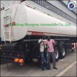 Tre autocisterne del combustibile del rimorchio 50ton Cimc degli assi in Afica da vendere