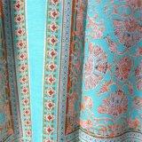 Tecido Crepe Impresso 100% Viscose para Vestuário