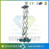 8m-12m Electric Mobile Aerial Lift Platform Scissor