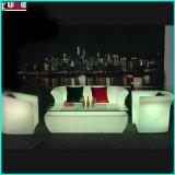 Sofá Sofá LED Glow moderno del ocio Sofá Sofá