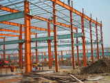 Assemble fácil Workshop/Warehouse Steel Structure com Sandwich Panel SL-0090