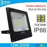 luces de inundación al aire libre de 10W 30W 50W 100W 150W 200W LED