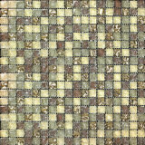 Ijs Crack Glass Mosaic voor Bathroom (VMG8210 15X15X8mm)