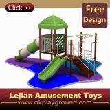 CE plastique commercial enfants extérieur Aire de jeux extérieure pour Park (X1229-3)