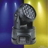 3W RGB Mini 18 LED de luz en movimiento la etapa de la cabeza