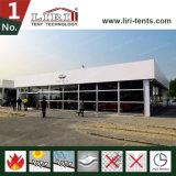 Tente 15X15m de structure de cube avec le tissu blanc de PVC pour l'exposition