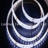 La luz SMD3014 de la cinta de DC24V LED impermeabiliza tiras flexibles del LED