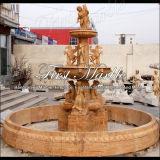 Fontana di pietra di marmo Mf-1030 dell'oro di Ny della fontana del granito