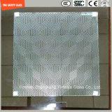 печать Silkscreen 3-19mm/кисловочный Etch/заморозили/квартира картины/согнули Tempered/Toughened стекло для двери гостиницы/домашних/окна/ливня с сертификатом SGCC/Ce&CCC&ISO внутри