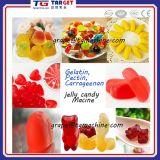 Doces gomosos dos doces macios da geléia dos doces que fazem a máquina