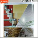 branco de 4.38mm-52mm/cinzento desobstruído/azul/amarelo/PVB de bronze, vidro laminado de Sgp com o certificado de SGCC/Ce&CCC&ISO para a balaustrada, etapa da escada, divisória, cabine do chuveiro