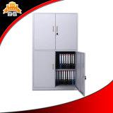 Шкаф хранения металла, офисная мебель, стальной двухзвенньевой шкаф для картотеки